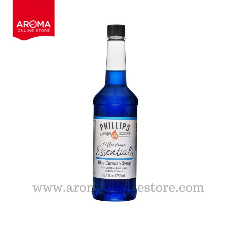Coffee House Essential Blue curacao Syrup (Phillips Brand)
