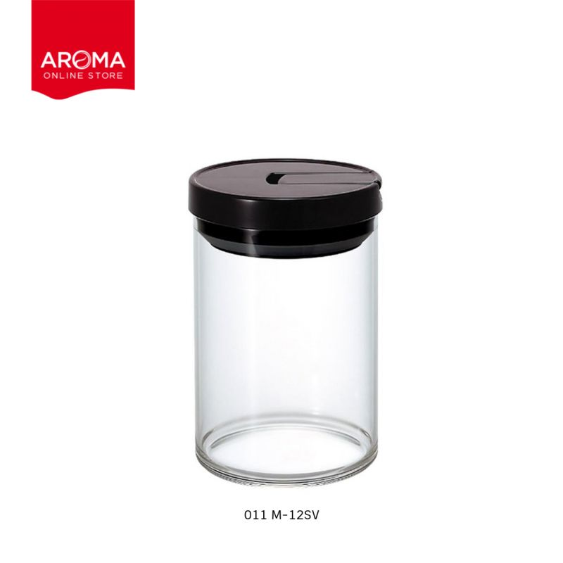 HARIO(013) Coffee Canister M/ Black / MCN-200B