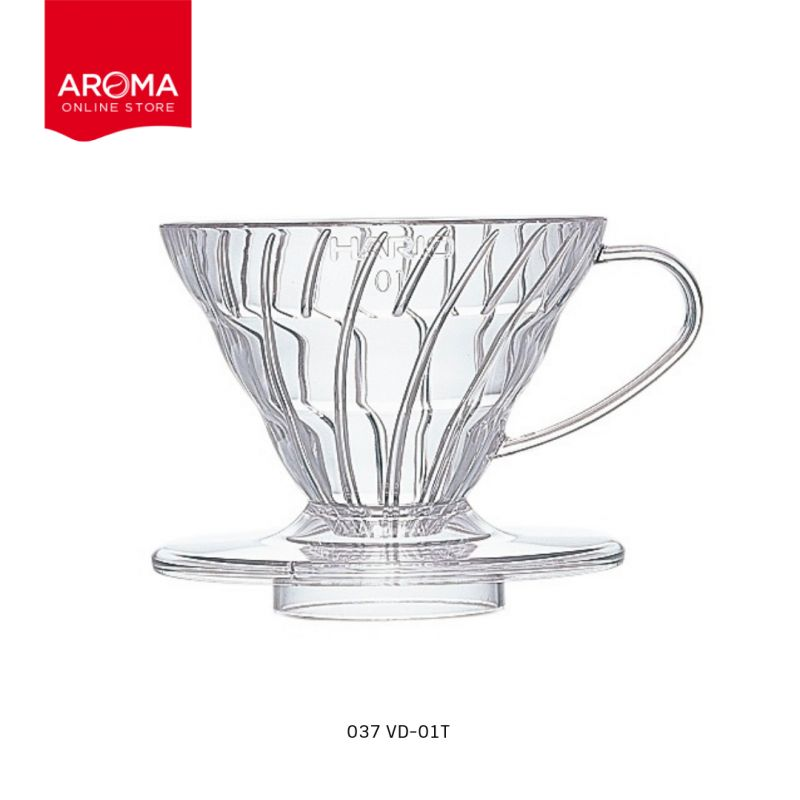 HARIO(037) V60 Coffee Dripper 01/  Clear / VD-01T