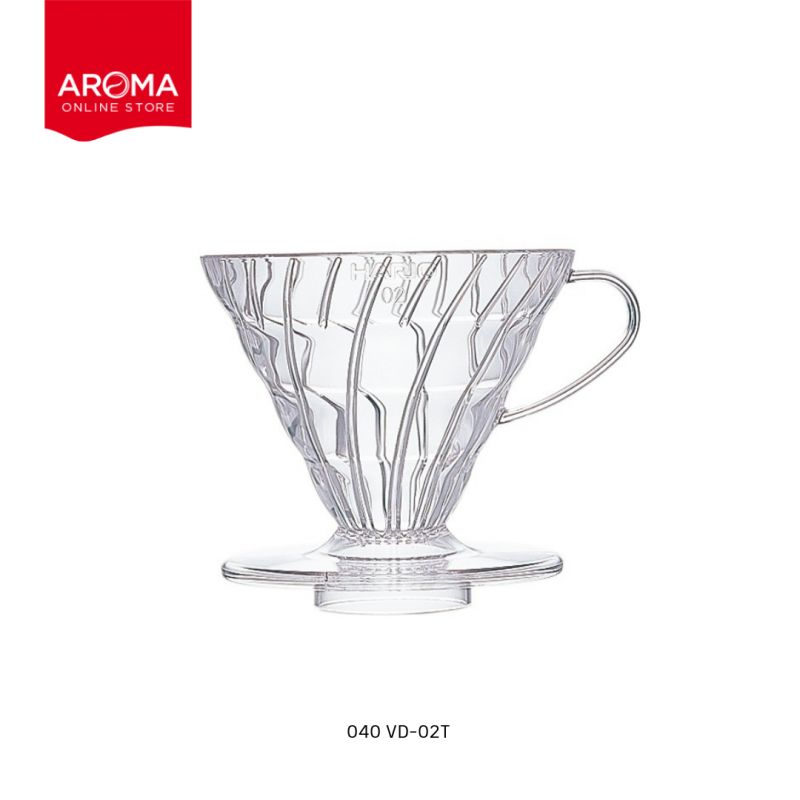 HARIO(040) V60 Coffee Dripper 02/  Clear / VD-02T