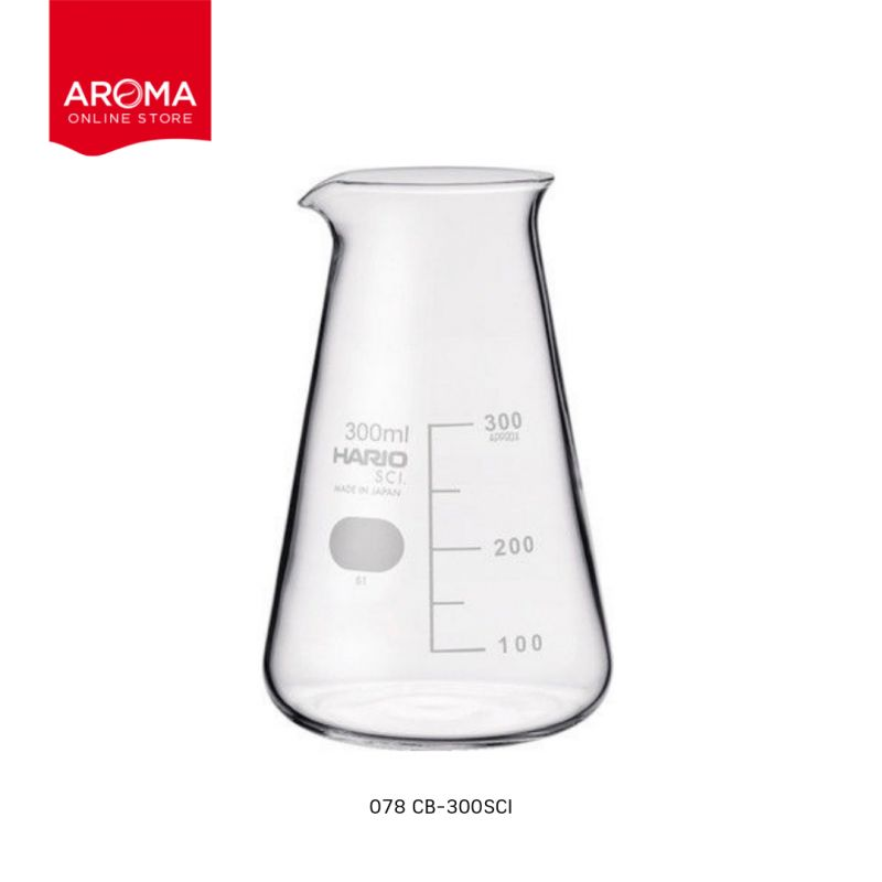 HARIO(078) Conical beaker 300( with Measurements) / CB-300SCI