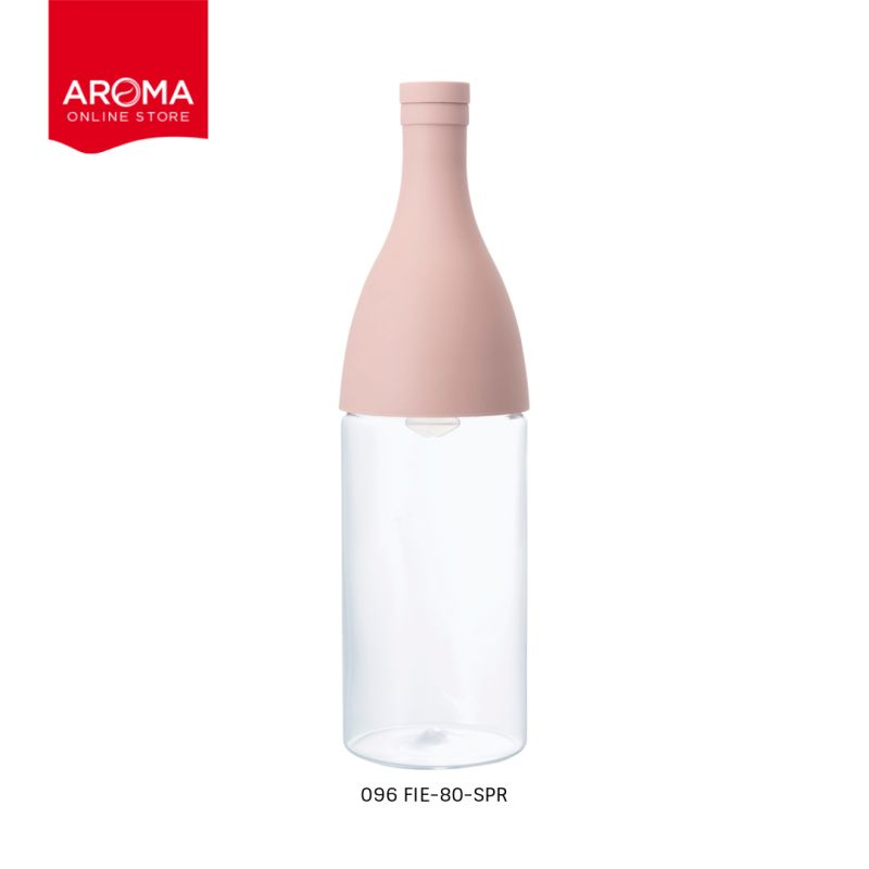 HARIO(096) Filter-in Bottle Aisne Smokey Pink / FIE-80-SPR