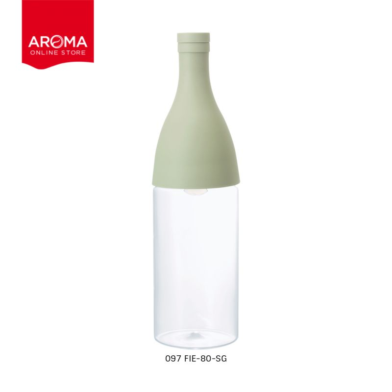 HARIO(097) Filter-in Bottle Aisne Smokey Green / FIE-80-SG