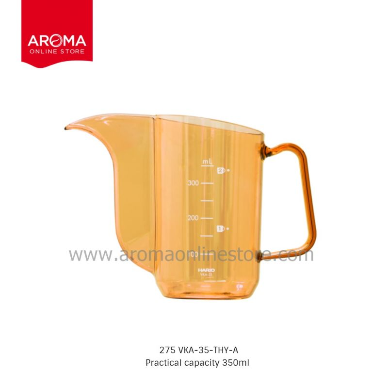 HARIO(275) V60 Drip Kettle Air Honey Yellow (Juicee Collection) / VKA-35-THY-A