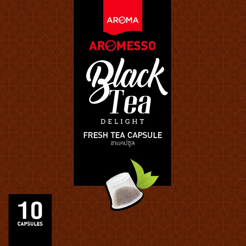 ชาแคปซูล AROMESSO BLACK TEA DELIGHT