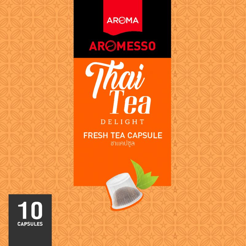 ชาแคปซูล AROMESSO THAI TEA DELIGHT